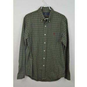 Ralph Lauren Medium Plaid Button Down Shirt
